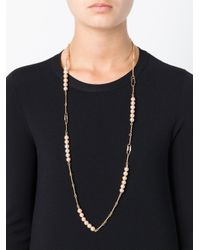 Aurelie Bidermann | Metallic Long 'cheyne Walk' Necklace | Lyst