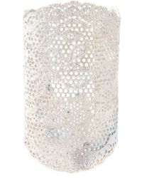 Aurelie Bidermann | Metallic Large 'vintage Lace' Cuff | Lyst