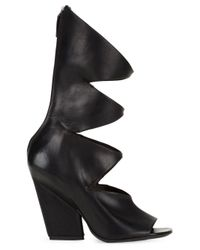 Marsèll - Black - Cut-out Boots - Women - Calf Leather - 36 - Lyst