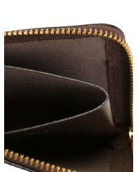 Comme des Garçons - Brown Zip Around Wallet for Men - Lyst