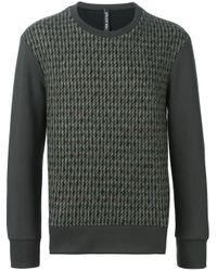 Neil Barrett | Green Tweed Front Sweatshirt for Men | Lyst
