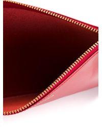 Comme des Garçons - Red Comme Des Garçons Wallet 'colour Plain' Clutch - Lyst
