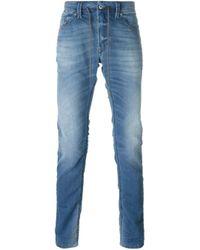 DIESEL | Blue 'thavar' Jeans for Men | Lyst