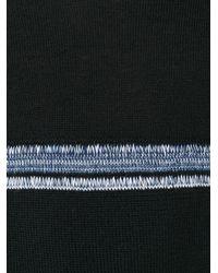 Comme des Garçons - Black Striped Knitted Sweater for Men - Lyst