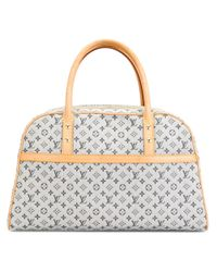 Louis Vuitton | Natural Denim Monogram Tote | Lyst