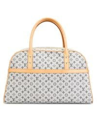 Louis Vuitton - Blue Denim Monogram Tote - Lyst
