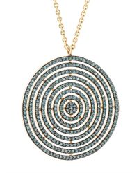 Astley Clarke - Metallic 'icon Aura' Diamond Necklace - Lyst