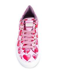 Philipp Plein | Pink Stan Sneakers | Lyst