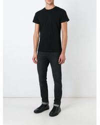 DIESEL - Black Vitkac Print T-shirt for Men - Lyst