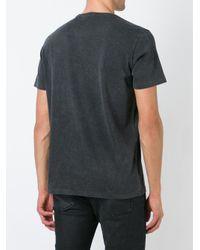 DIESEL   Gray Print T-shirt for Men   Lyst
