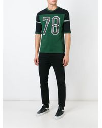 DIESEL | Black Rugby T-shirt for Men | Lyst