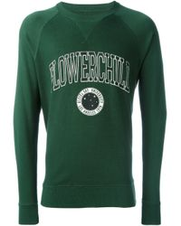 DIESEL | Green Flowerchild Print Sweatshirt for Men | Lyst