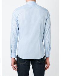 DIESEL   Blue - Classic Shirt - Men - Cotton/spandex/elastane - M for Men   Lyst