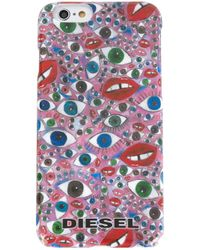 DIESEL | Pink Eye Print Iphone 6 Case for Men | Lyst