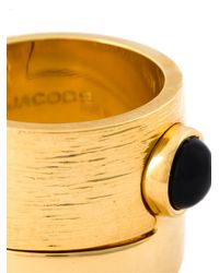 Marc By Marc Jacobs - Metallic 'puzzle Cabochon' Ring - Lyst