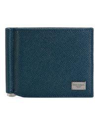 Dolce & Gabbana - Blue Classic Billfold Wallet for Men - Lyst