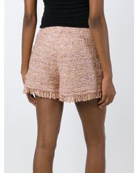 M Missoni | Multicolor Frayed Knit Shorts | Lyst