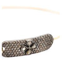 Mathilde Danglade - Pink Flower Diamond Bracelet - Lyst