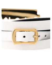 McQ - White Razor Triple Wrap Bracelet - Lyst