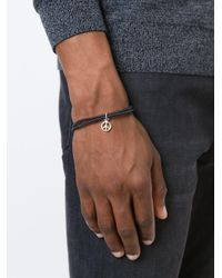 Paul Smith - Black Peace Bracelet for Men - Lyst