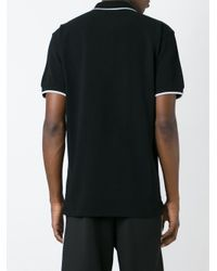 KENZO - Black 'tiger' Polo Shirt for Men - Lyst