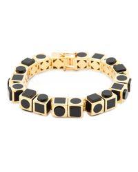 Eddie Borgo   Metallic 'mosaic Cube' Bracelet   Lyst