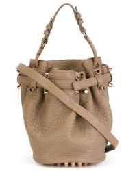 Alexander Wang | Natural Women's Diego Small Pebble Leather Bag | Lyst