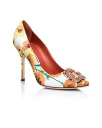 Manolo Blahnik - Multicolor Hangisi Mel Pumps - Lyst
