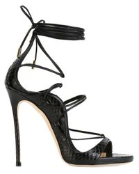 DSquared² | Black 'riri' Sandals | Lyst