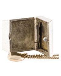 Maison Margiela - Metallic Ring And Bracelet Set - Lyst