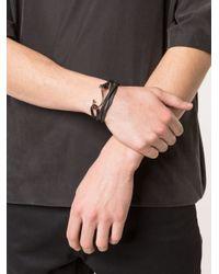 Miansai - Black Hook Wrap Bracelet - Lyst