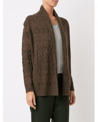 Cecilia Prado - Blue Open Front Knitted Cardigan - Lyst