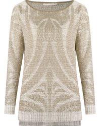Cecilia Prado - Black Boat Neck Knitted Blouse - Lyst