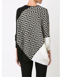 Cecilia Prado - White Round Neck Knitted Blouse - Lyst