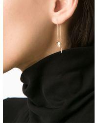 Lauren Klassen - Metallic 14kt Gold Whistle Chain Earring - Lyst