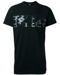 KTZ | Black Logo Print T-shirt for Men | Lyst