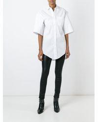 Vetements - Black Oversize Sleeve Shirt - Lyst