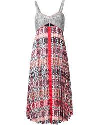Misha Nonoo | Black 'georgette Madeline' Dress | Lyst