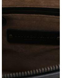 Bottega Veneta - Blue Woven Leather Cross-Body Bag - Lyst