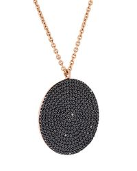 Astley Clarke | Black Large 'icon' Diamond Pendant Necklace | Lyst