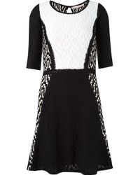 Cecilia Prado - Black Flared Tricot Dress - Lyst