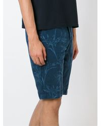 Etro | Blue Floral Print Shorts for Men | Lyst