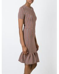 Opening Ceremony - Multicolor Printed Flute Dress - Lyst