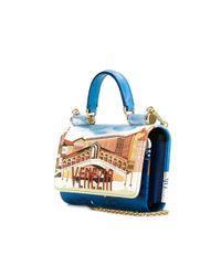 Dolce & Gabbana - Multicolor Mini 'von' Wallet Crossbody Bag - Lyst