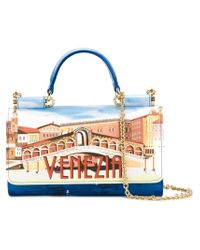 Dolce & Gabbana | Multicolor Mini 'von' Wallet Crossbody Bag | Lyst