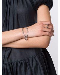 Ann Demeulemeester - Metallic 'wishbone' Bracelet - Lyst