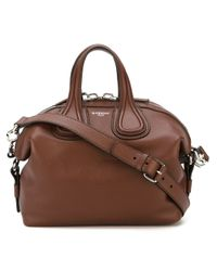 Givenchy | Brown Small 'nightingale' Tote | Lyst