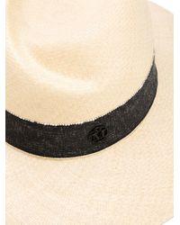 Maison Michel - Natural 'virginie' Hat - Lyst