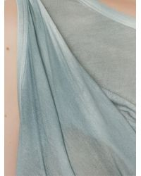 UMA | Raquel Davidowicz - Blue | 'tabela' Top - Lyst