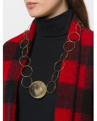 Marni - Multicolor Flower Resin Orb Necklace - Lyst